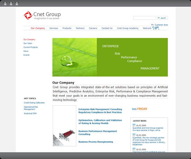 Web Design Website Cnet Group